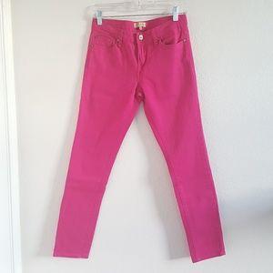 Women's Sanctuary Denim Hot Pink Skinny Jeans